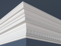 decorative molding obj