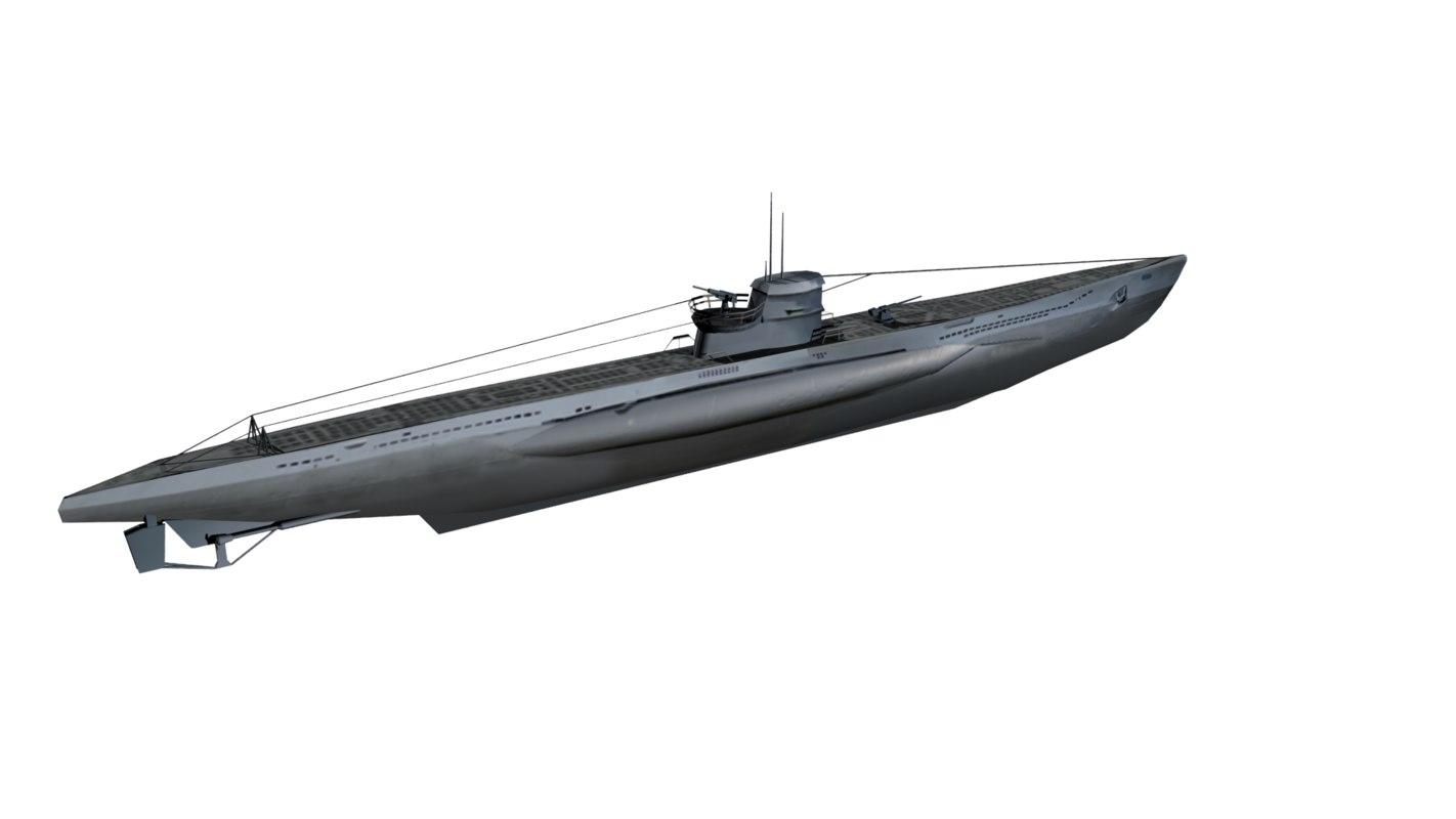 obj german u-boat iivc