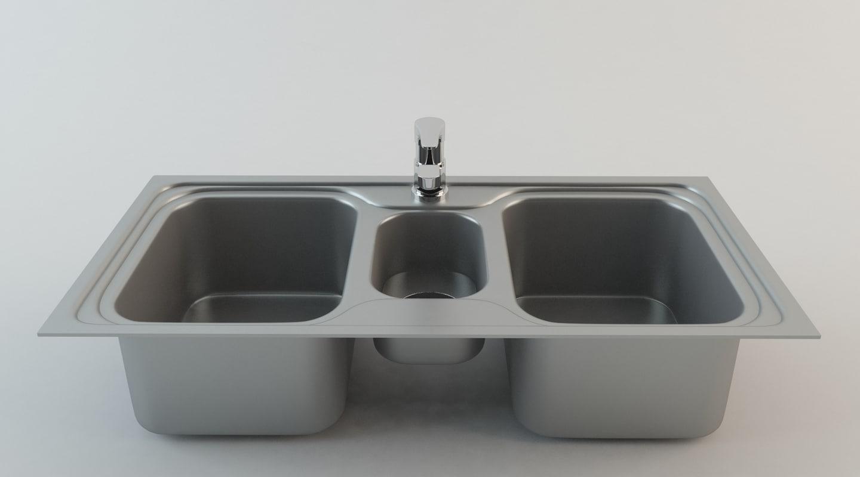 3dsmax kitchen sink