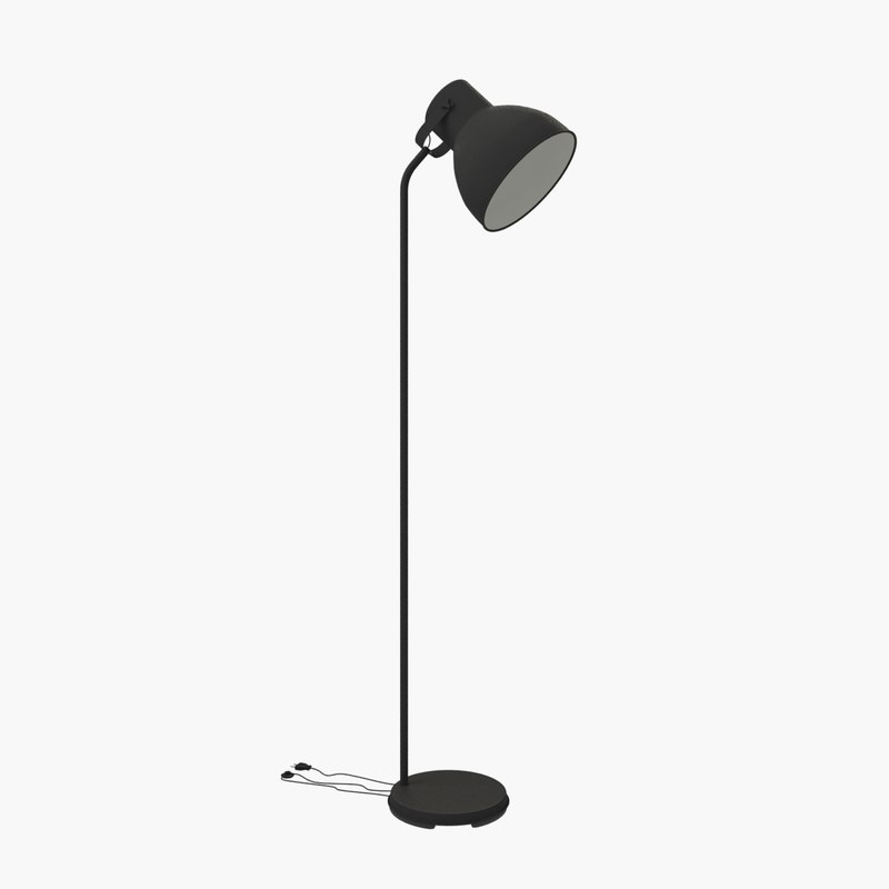 3ds max ikea hektar floor lamp. Black Bedroom Furniture Sets. Home Design Ideas