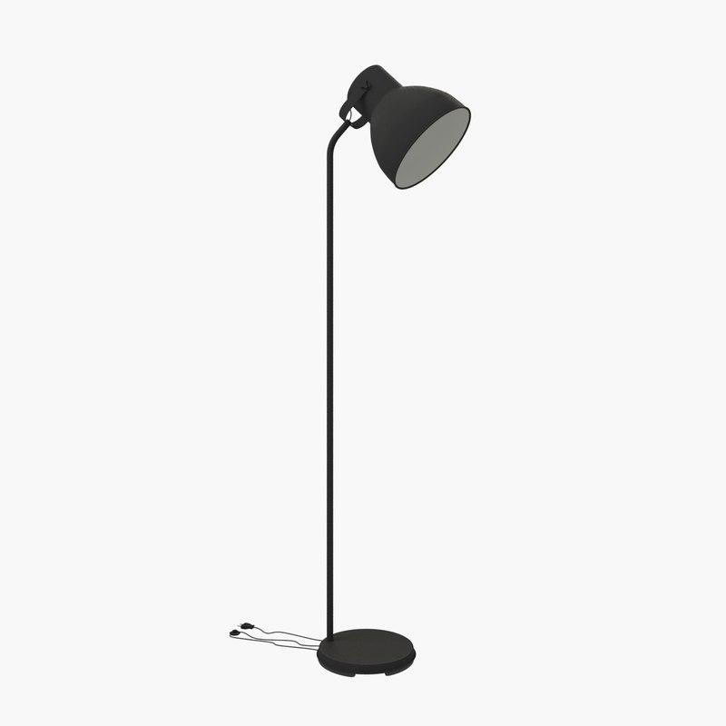3ds max ikea hektar floor lamp