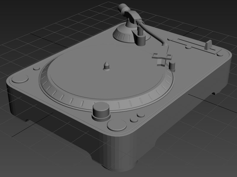 max dj turntable