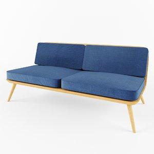 3d model d-sofa2