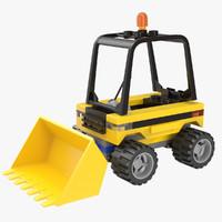 lego excavator 3ds