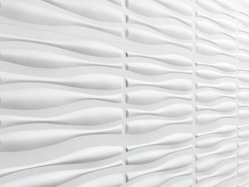 3d panel tiled walls model