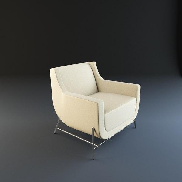 hbf ski lounge 3d model