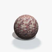 Random Brick Wall Texture