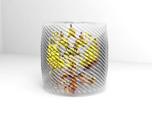 3ds max glass cup