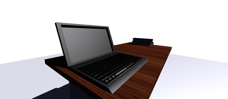 maya office computer table