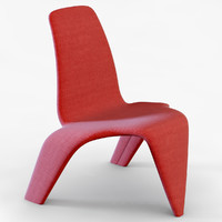 dolphin chair alexander lervik 3ds