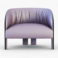 armchair eclipse chair 3d max