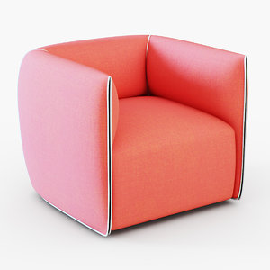 francesco bettoni mia armchair dxf