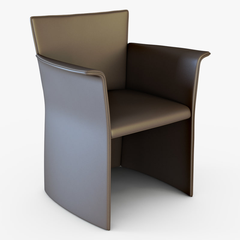 klab armchair cleo 3d model