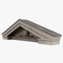pediment 3D models