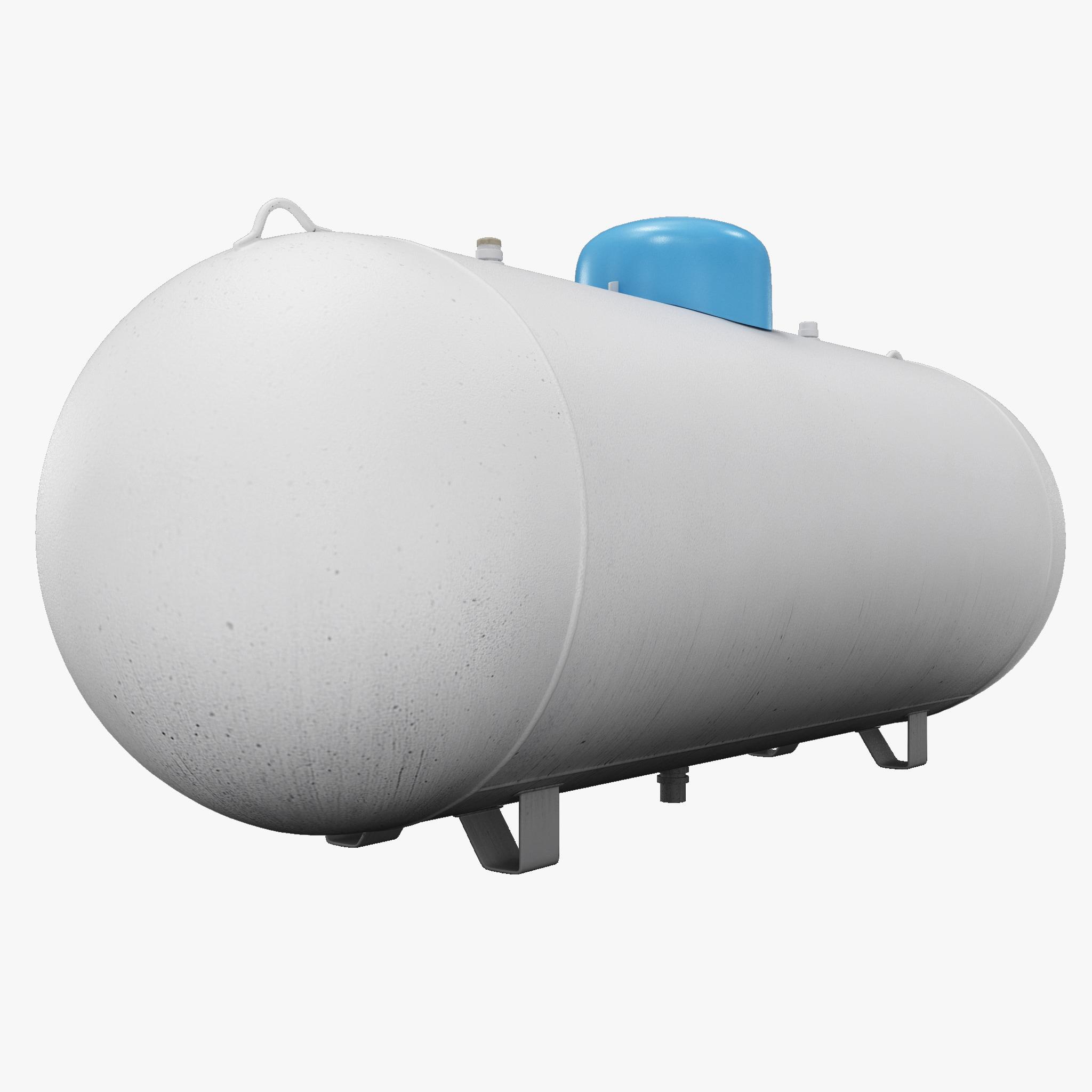 large propane tank 3d model