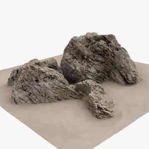 3d scan rock