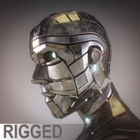 Male Android Fully Rigged