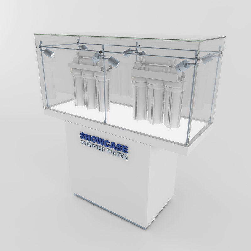 3d model of showcase 01