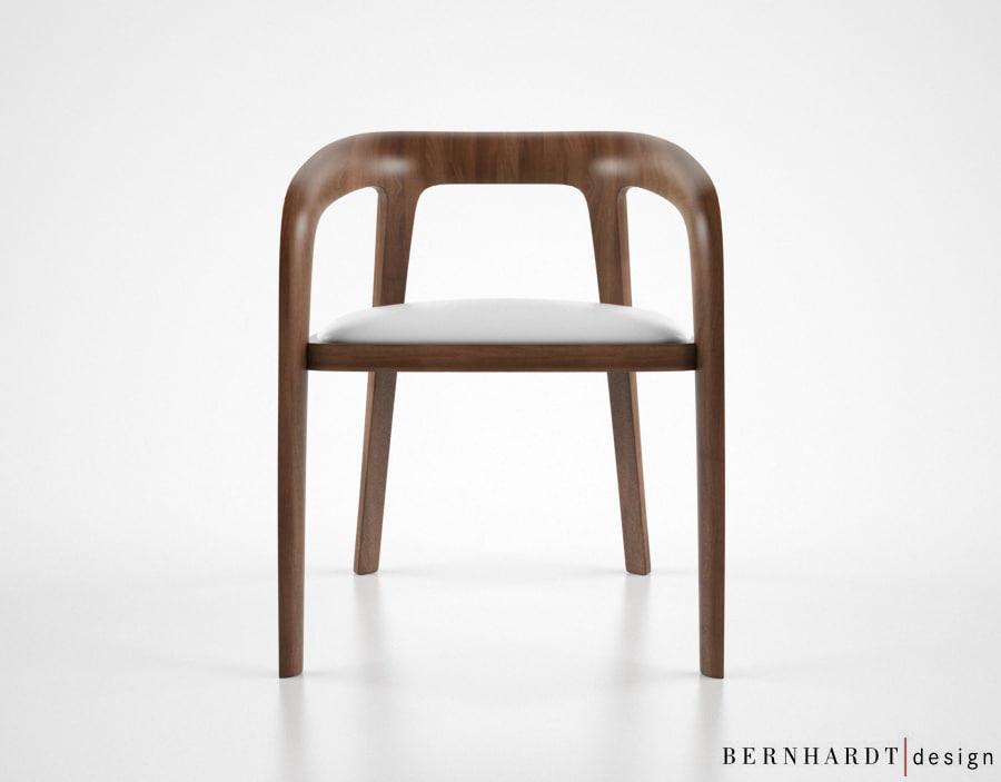 3d bernhardt design corvo chair model