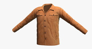 ecoths davidson jacket 3d max