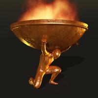 bronze statue max