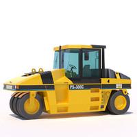 pneumatic asphalt compactor max