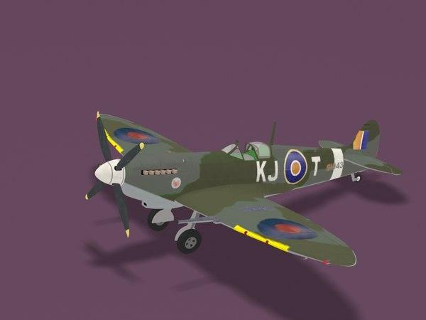 3d supermarine spitfire mk ix
