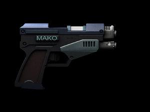 mako 10mm pistol deus max