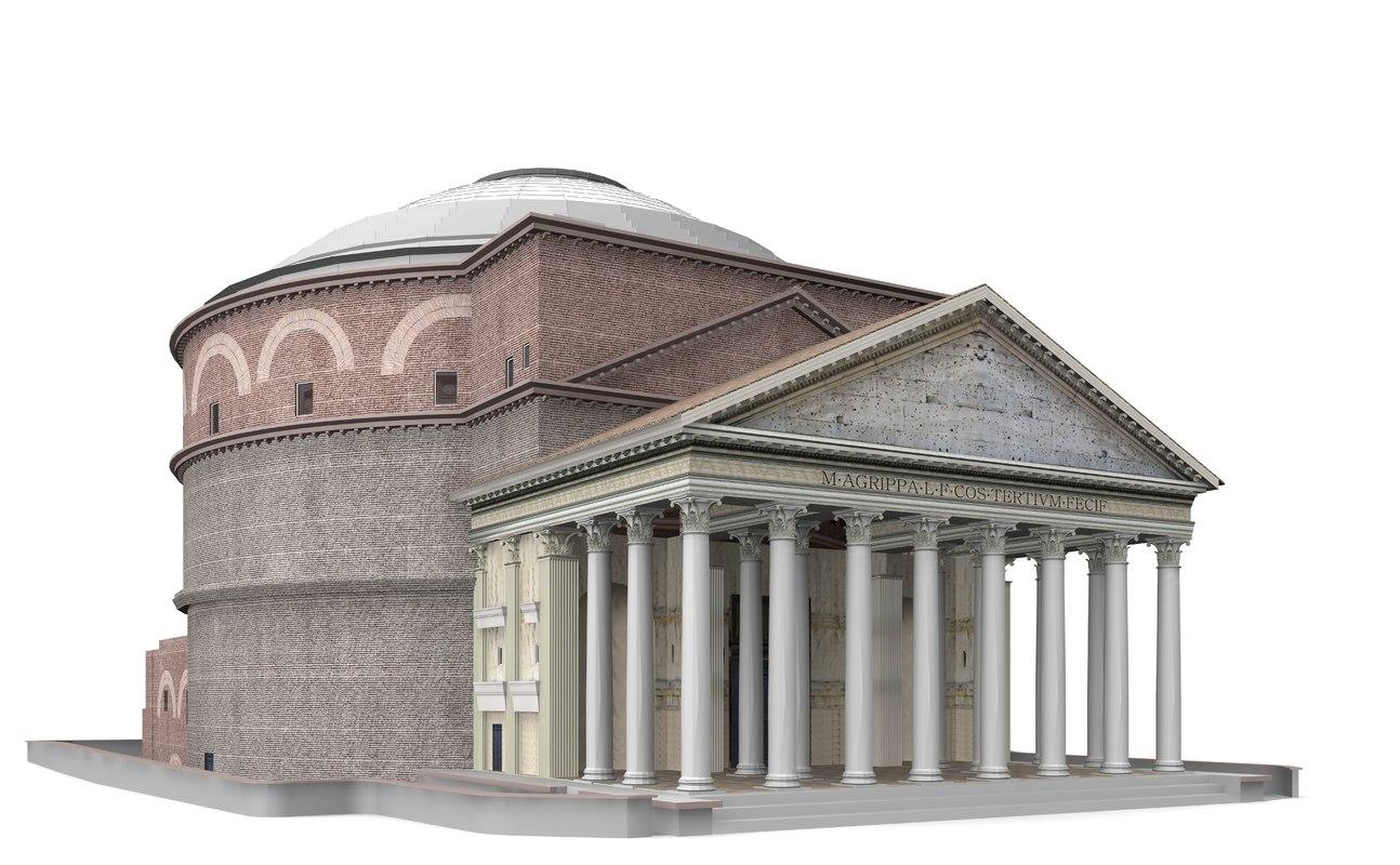 maya pantheon rome italy