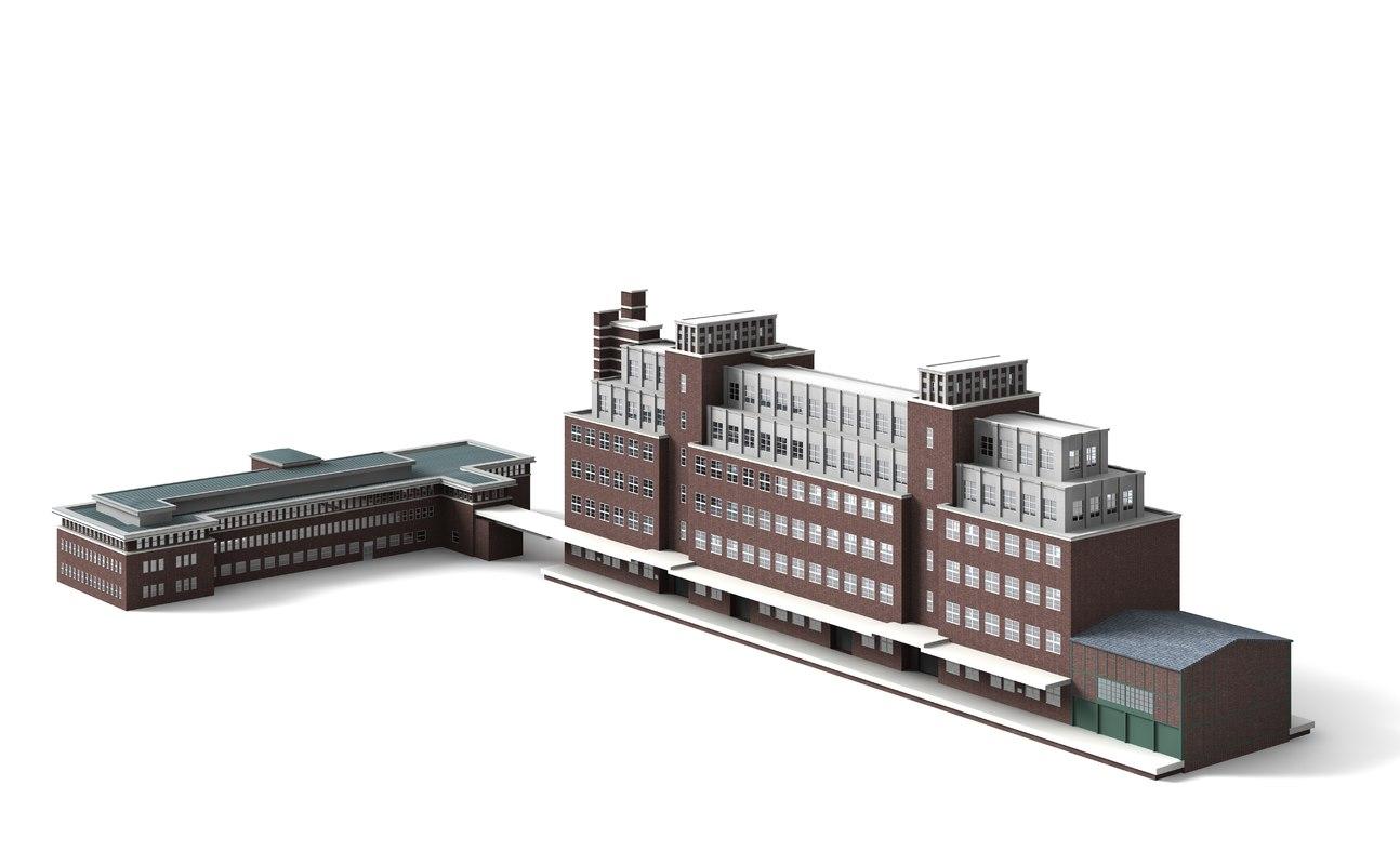 peter behrens building 3d 3ds