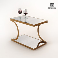 3d model arteriors mirrored table