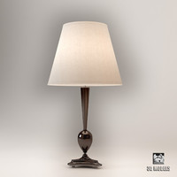 3d christopher guy rene lamp model