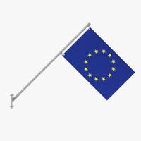3d eu flag