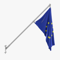 3dsmax eu flag