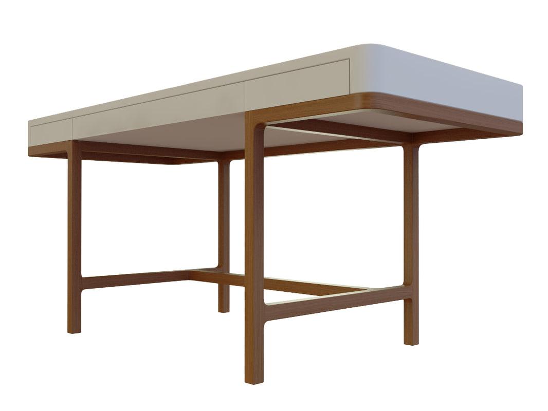 3d model desk lema victor