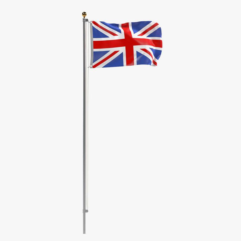 3ds max uk flag