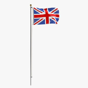 3ds max uk flag