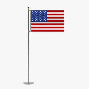 3d model flag