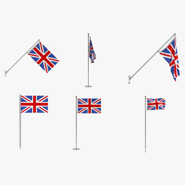 uk flags 3ds