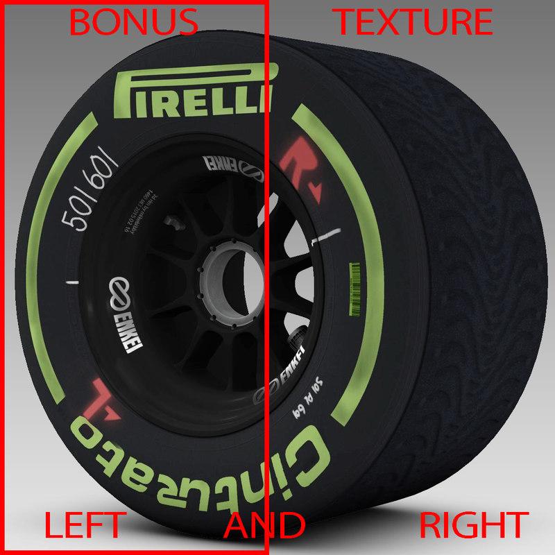 pirelli tyre enkei 3d 3ds
