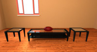coffee table obj free