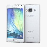 Samsung Galaxy A5 and A5 Duos White