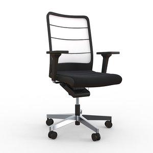 air pad interstuhl chair 3d model