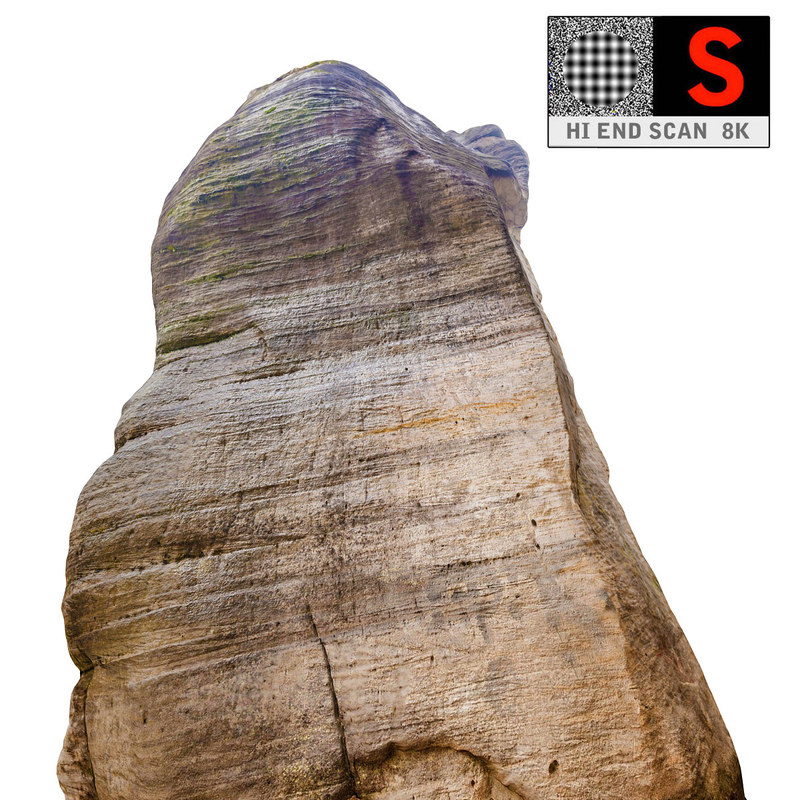 mountain rock 3d max