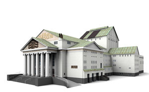 3d duisburg's city theatre duisburg