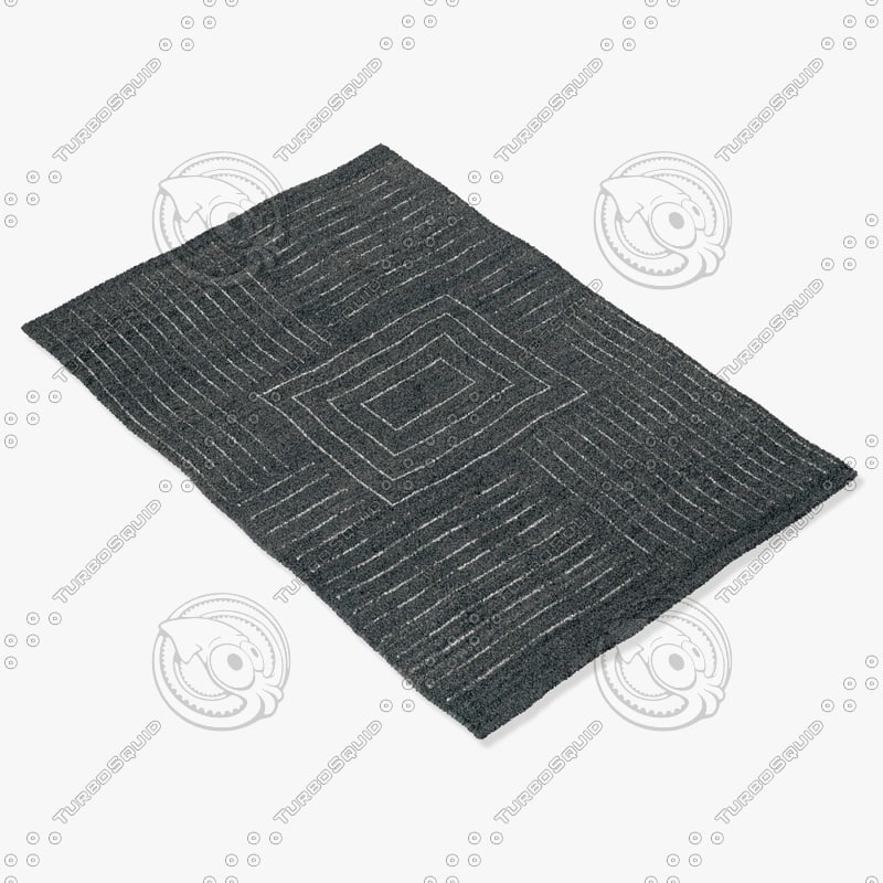 3d model sartory rugs nc-058