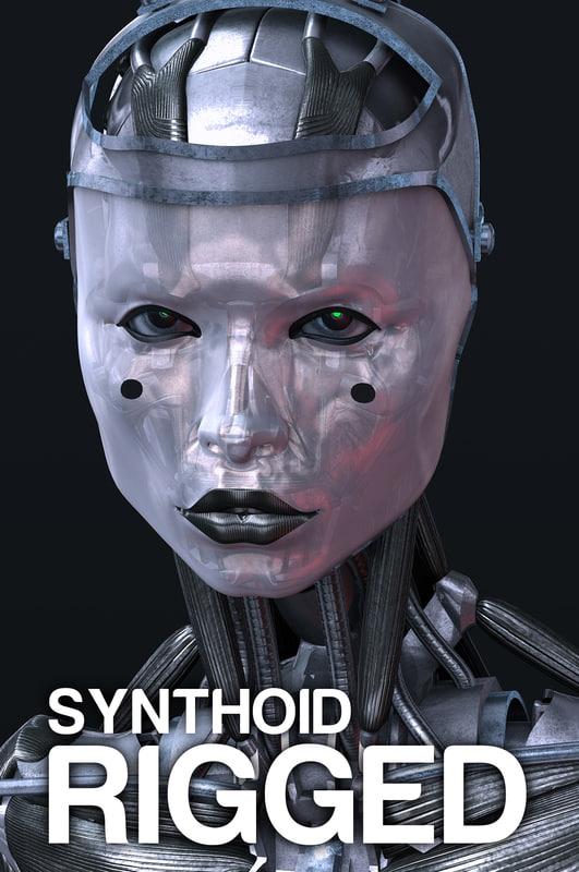 robot anatomical 3d max