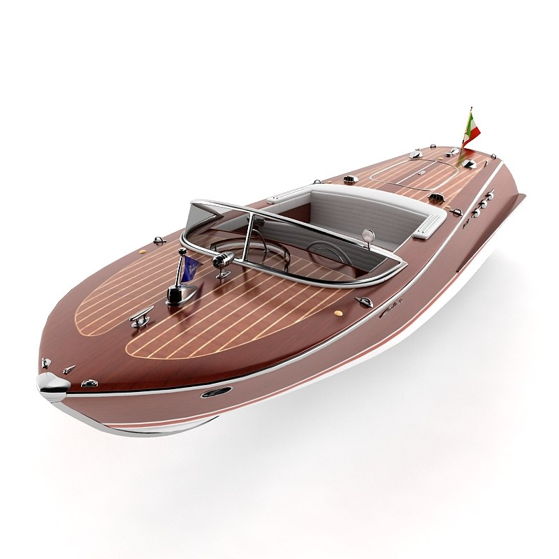 riva ariston 3d model
