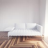 3dsmax prive 214 sofa cassina