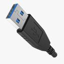 USB cable 3D models